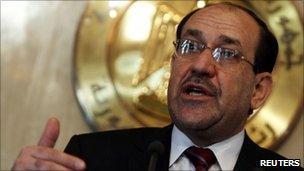Nouri Maliki in Cairo (20 October 2010)