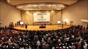 Iraq parliament meets, 14 June 2010