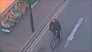 Man on Osborne Street