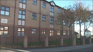 Anchor Housing sheltered homes scheme in Newcastle