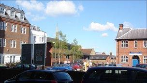 Bellerby Theatre site in Guildord