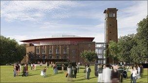 The new Royal Shakespeare Theatre is due to open next year