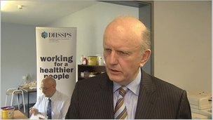 Health Minister Michael McGimpsey