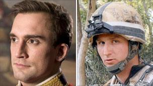 Lt Douglas Dalzell (left) and Cpl Richard Green