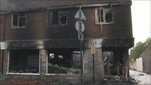 Lenham fire