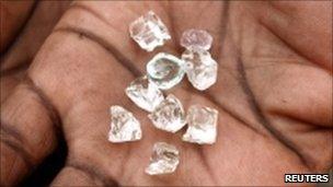 Diamonds (file photo)