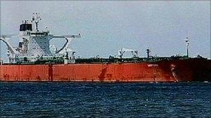The Samho Dream oil tanker (file image)