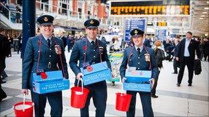 Royal British Legion poppy collection smashes record - BBC News