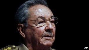 President Raul Castro on 6 October 2010