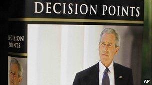 Cover of George W Bush's memoir