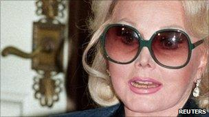 Zsa Zsa Gabor, pictured in 1992