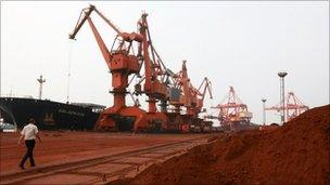Rare earths being exported from China back in September