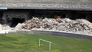 Infrastructure projects include the upgrading or building of football stadiums ahead of the 2014 World Cup