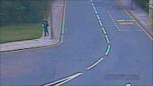 CCTV of Crown Street figure
