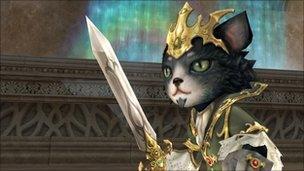 Screenshot from Lineage II, NCSoft