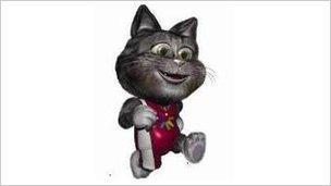 Tosha the cat