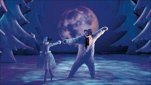 Still from The Snowman ballet