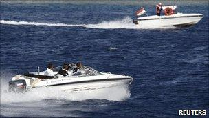 Security boats