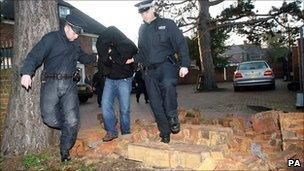 One of the ringleaders under arrest