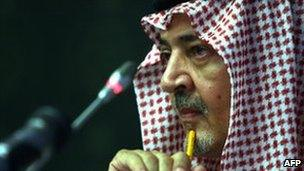 Saudi Foreign Minister Saud al-Faisal