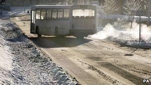 Bus in Borders