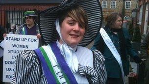 Olivia Bailey, NUS women's officer