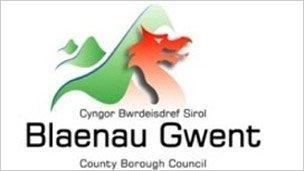 Blaenau Gwent council logo