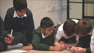 Children at RSC