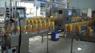 Laberion fruit juice factory