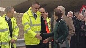 Princess Royal at Weymouth Relief Road