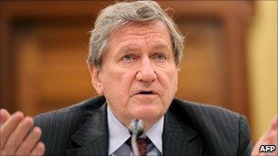 Richard Holbrooke (file photo, July 2010)