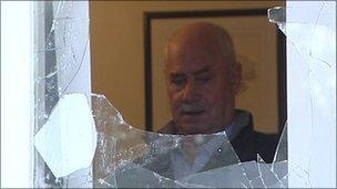 Ken Wilkinson at home