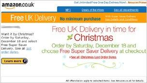 """email saying """"order for Christmas"""""""