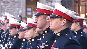 30 Commando Group inauguration ceremony