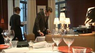 Restaurant at the Royal Monceau