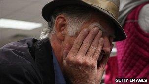 Unemployed man in NY