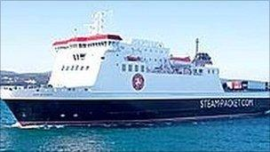 Ben-my-Chree (Pic: Isle of Man Steam Packet Company)