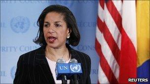 US ambassador to the US Susan Rice