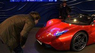 Marussia Car Image Caption The Showroom In Central Moscow Is Buzzing With  Prospective Buyers
