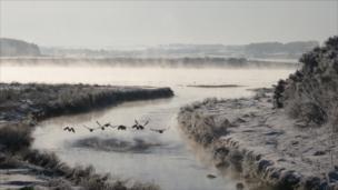River Ythan near Ellon, Aberdeenshire