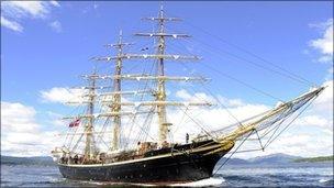 Training ship Georg Stage