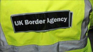 A UK Border Agency employee