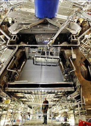 Atlas experiment at LHC (Cern)