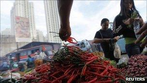 0a527ccd8 Indonesians urged to grow chillies to combat price rise - BBC News