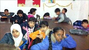 children of many ethnic backgrounds in a Riace classroom