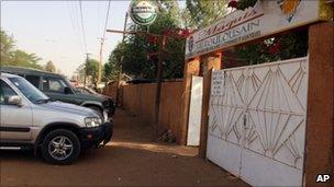 Le Toulousain restaurant in Niamey (8 January 2011)