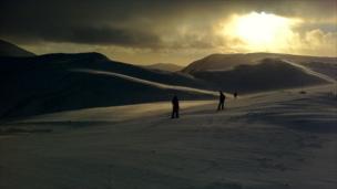 Glenshee skiers