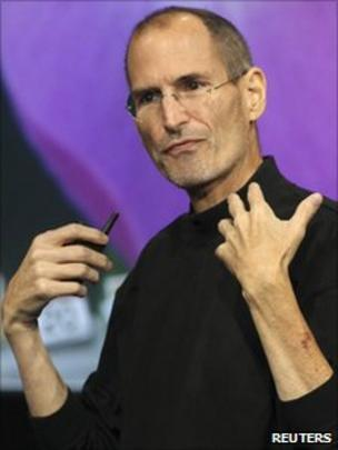 97632ae95e6 Apple shares drop on Steve Jobs' health - BBC News