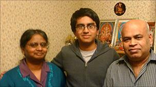 Ragulan and family