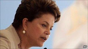 Brazilian President Dilma Rousseff, 3 February 2011